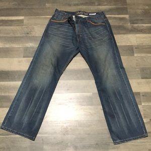 Levi Silver Tab Blue Jeans Size 36